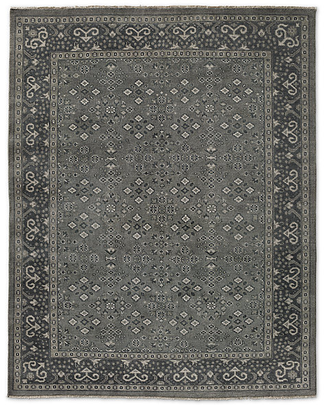 Malba Rug - Sand/Light Grey