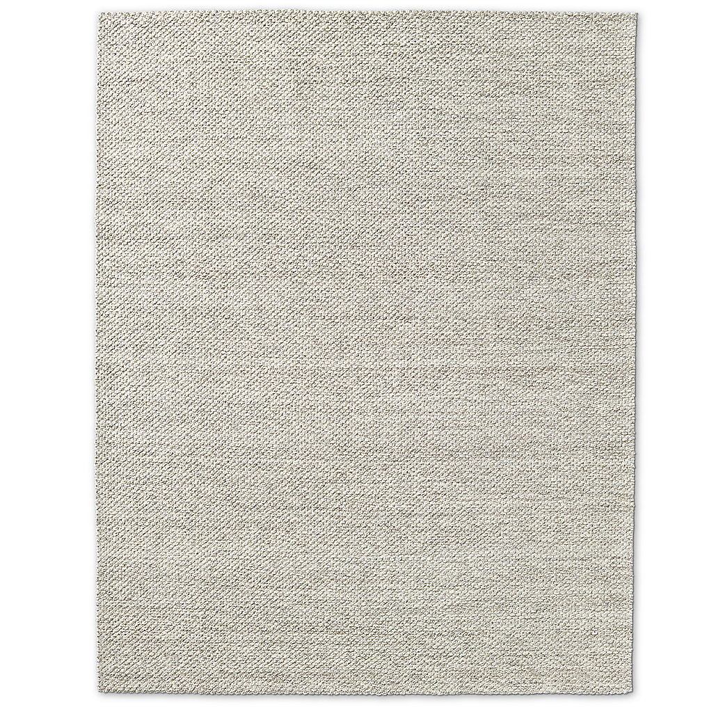 Luxe Looped Wool Rug - Grey