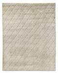 Reverse Raised Diamond Rug - Sand