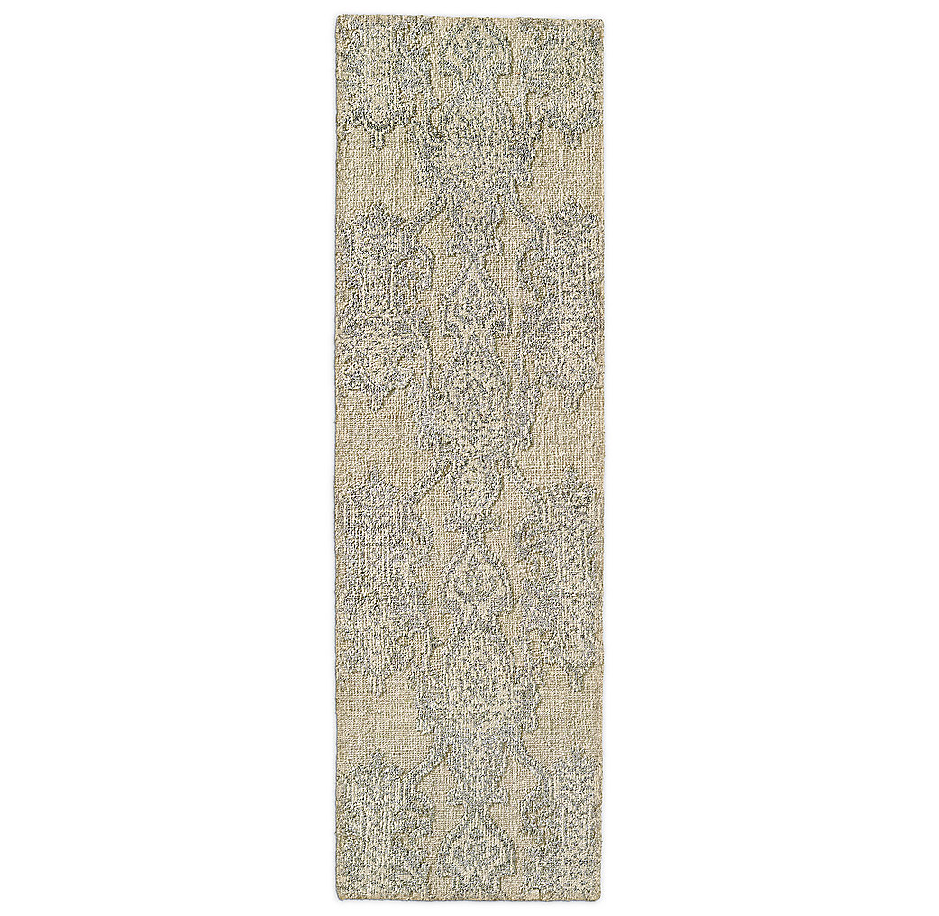 Scala Damask Rug - Navy