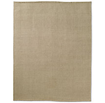 Linear Wool Rug - Cream