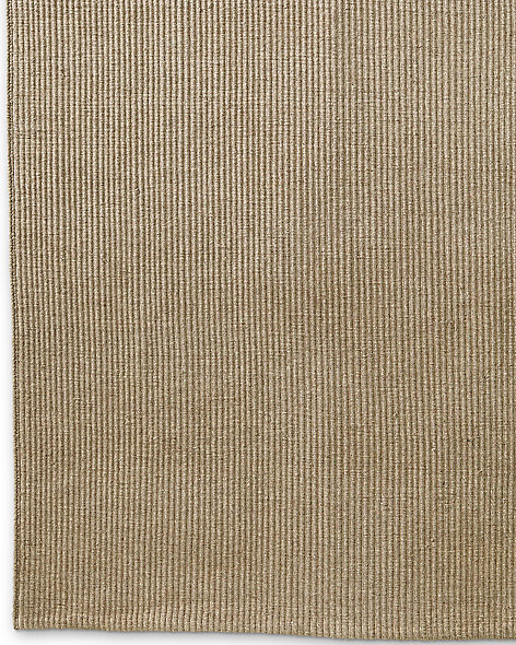 Linear Wool Rug - Oatmeal