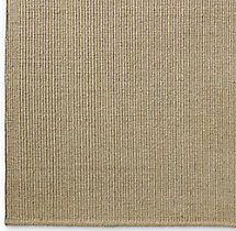 Linear Wool Rug Swatch - Cream