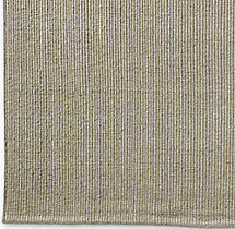 Linear Wool Rug Swatch - Grey