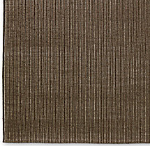 Linear Wool Rug Swatch - Mocha
