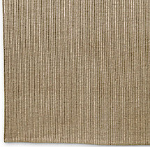 Linear Wool Rug Swatch - Oatmeal