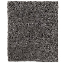Luxe High-Pile Shag Rug - Charcoal