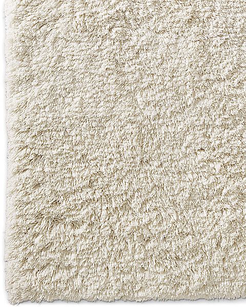 Luxe High Pile Rug Ivory
