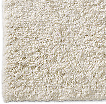 Luxe High-Pile Shag Rug Swatch - Ivory
