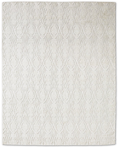 Abstract Ornamento Rug - Light Grey