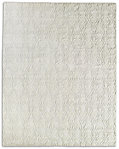 Abstract Ornamento Rug - Silver