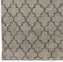 Valencia Rug Swatch - Grey