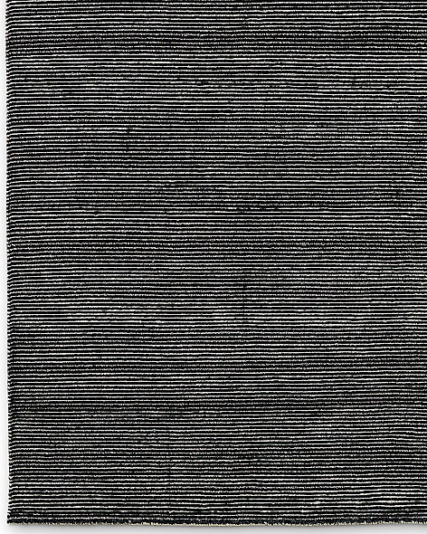 Striped Corte Rug - Black
