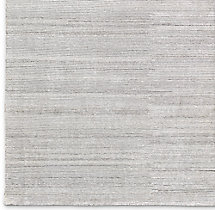 Striped Corte Rug Swatch - Fog