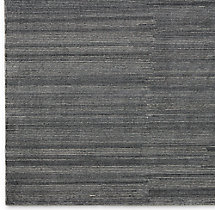 Striped Corte Rug Swatch - Graphite