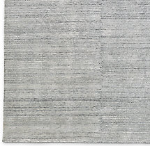Striped Corte Rug Swatch - Grey