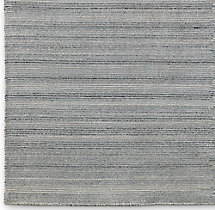 Striped Corte Rug Swatch - Silver