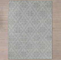 Ornato Hand-Knotted Rug - Grey