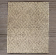 Ornato Hand-Knotted Rug - Ivory