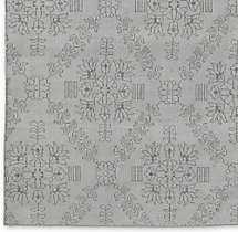 Ornato Hand-Knotted Rug Swatch - Grey