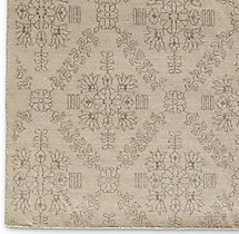 Ornato Hand-Knotted Rug Swatch - Ivory
