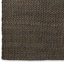 Two-Tone Basket Weave Jute Rug Swatch - Amethyst Platinum
