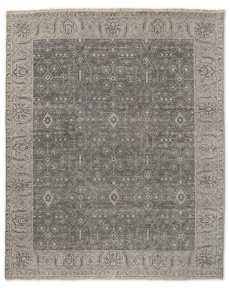 Fino Rug - Grey/Light Grey