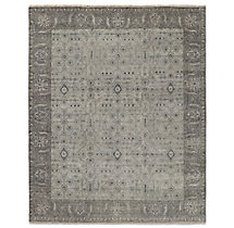 Fino Rug - Light Grey/Grey