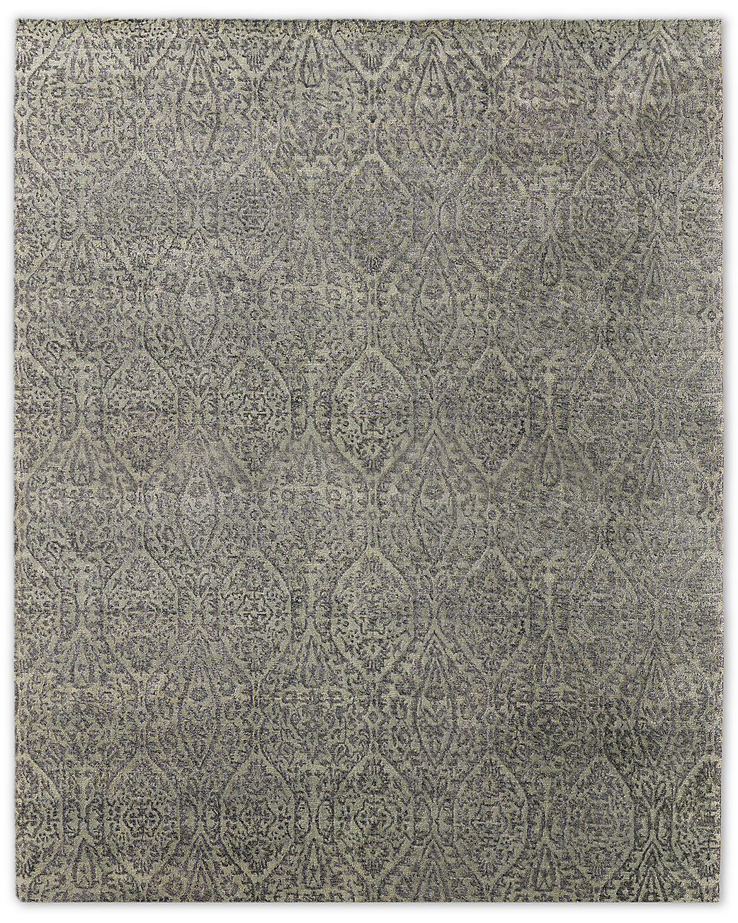 Puerto Rug - Light Grey/Charcoal