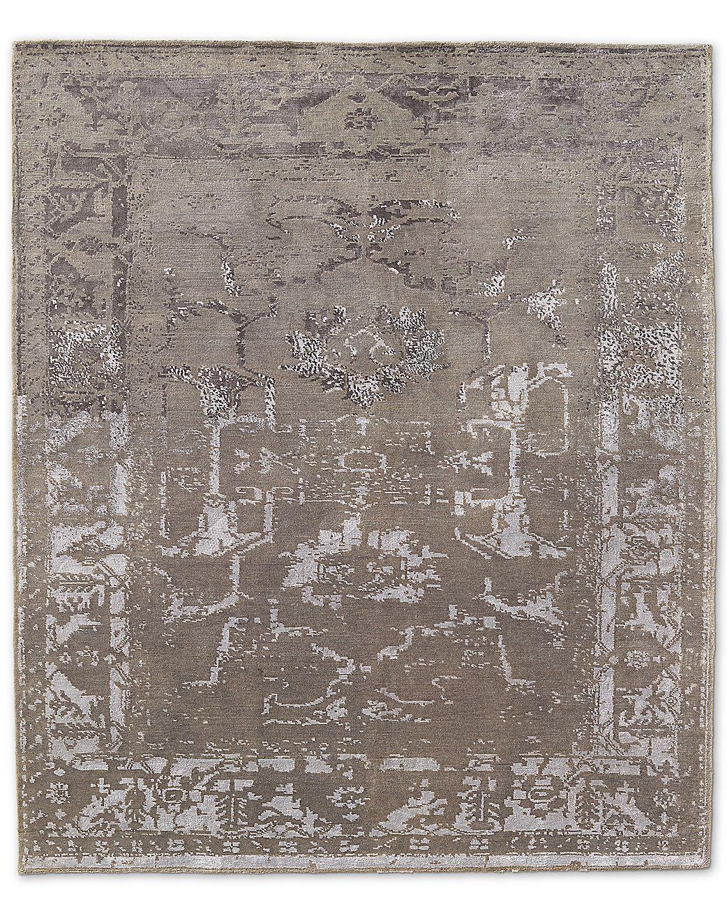 Arte Rug Silver White