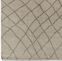 Sketched Diamond Rug Swatch - Sand