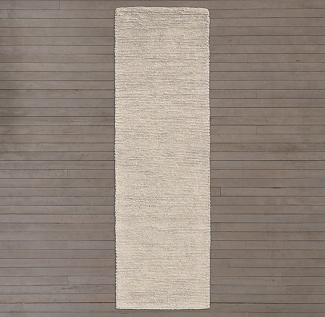 Shaded Loop Rug - Mocha