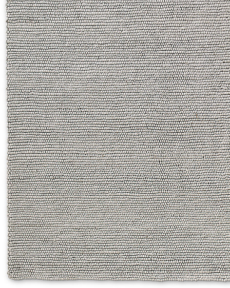 Shaded Loop Rug - Silver