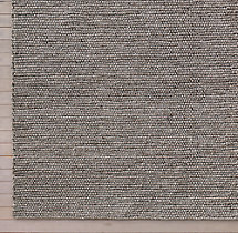 Shaded Loop Rug Swatch - Mocha