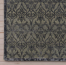 Palla Rug Swatch - Dark Grey