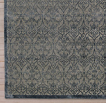 Palla Rug Swatch - Grey/Dark Grey