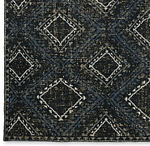Antico Rug Swatch - Black