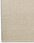 Raised Zigzag Wool Rug - Cream