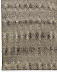 Raised Zigzag Wool Rug - Grey
