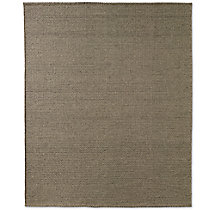 Raised Zigzag Wool Rug - Marled