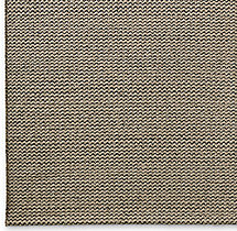 Raised Zigzag Wool Rug Swatch - Grey