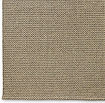 Raised Zigzag Wool Rug Swatch - Oatmeal
