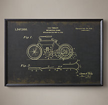 Motorcycle Patent Document - Tinsley Black