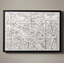 Paris Arrondissement Map - Hotel De Ville