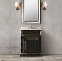 Montpellier Powder Room Vanity