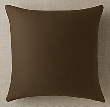 Custom Sunbrella® Twill Knife-Edge Square Pillow Cover