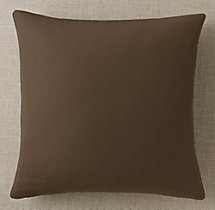 Custom Sunbrella® Canvas Knife-Edge Square Pillow Cover