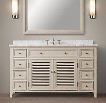 Shutter Single Extra-Wide Vanity
