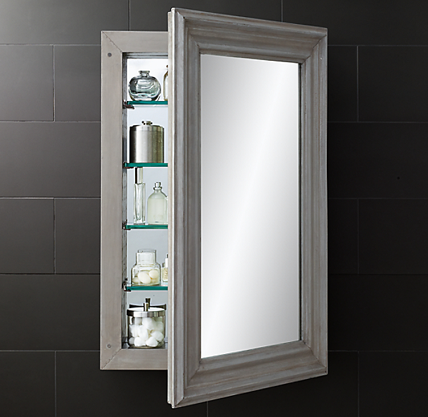Annecy Metal Wrapped Medicine Cabinet