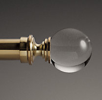Custom Estate Crystal Ball Finials